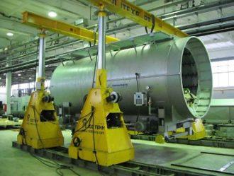 "Equipment handling and mounting at ""Tekhstroy"" JSC, Kazan"