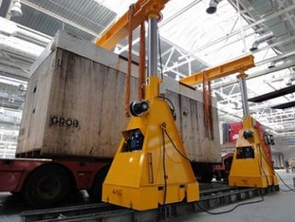 """Mounting of engines coloring equipment for """"Avtodiesel"""" JSC is accomplished (Yaroslavl Motor Factory)"""