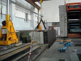 Printing machine MAN Uniset 70 relocation