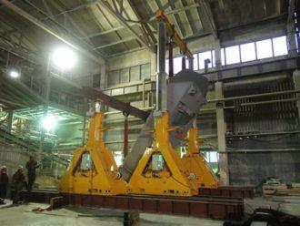 "Unloading and assembling of press SACMI PH6500 for ""Kompany ""Piastrella"", CJSC"
