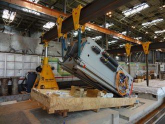 Milling machine installation at Kazan helicopter plant, OJSC