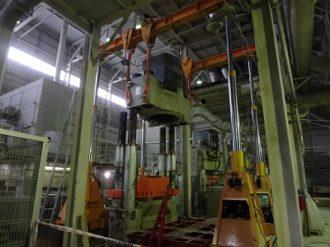 Hydraulic Press SACMI PH3020 repairing for Ceramics Plant SNEZHINSK, Ltd