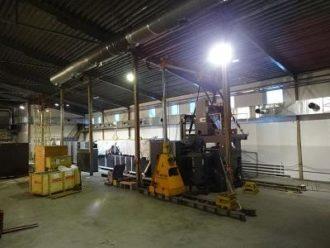 (Русский) Установка печатной машины на фундамент, Екатеринбург