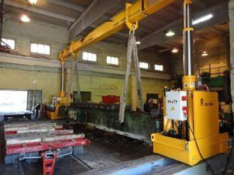 Machines dismantled, transported and mounted in Sverdlovskaya Region