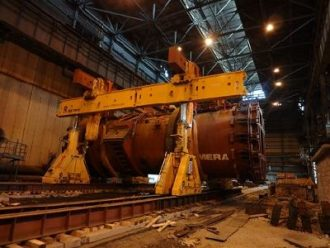 Newest metallurgical equipment Kumera installed for Karabashmed