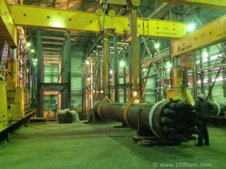 Перемещение, кантование и установка сосудов гидротермального синтеза в Рязанской обл.