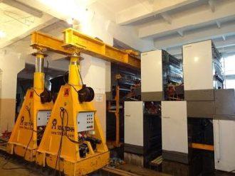 Printing machine relocated from St.Petersburg to Kirov