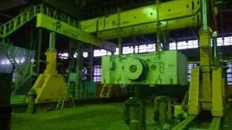 Press line Hyundai unloaded and assembled in Izhevsk