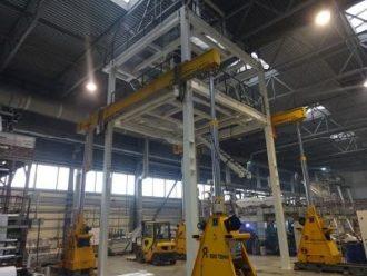 Printing press Windmoeller&Holsher mounted in Pereslavl-Zalessky