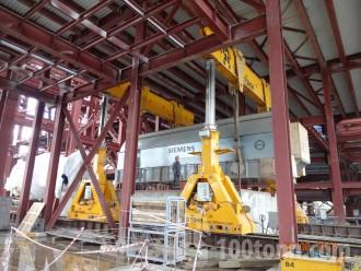 Gas turbine power units SIEMENS installed at Verkhnetagilsky State Power Station