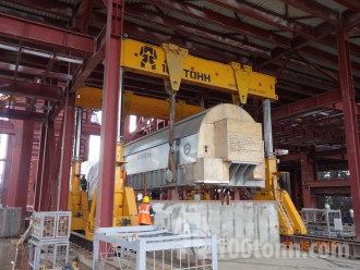 Lifting machine SIEMENS installed at Verkhnetagilsky State Power Station