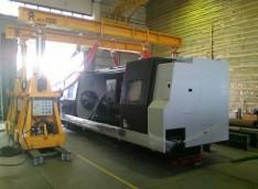 Перемещение по цеху токарно-обрабатывающего центра SMEC