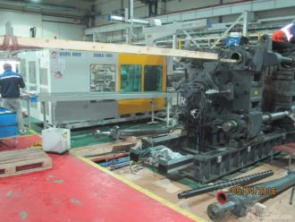11 automatic molding machines dismantled in Moskovskaya Oblast