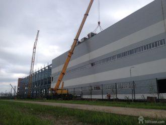 Ventilation equipment lifted and arranged in Togliatti
