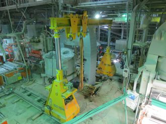 SACMI press body replaced in Samara