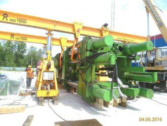 Automatic molding machines shifted in Togliatti