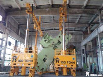 Embossing press relocated from Chelyabinsk to Naberezhnye Chelny and installed there