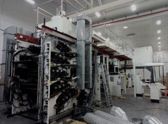 NOVOFLEX (WINDMOLLER&HOLSHER) printing machine installed