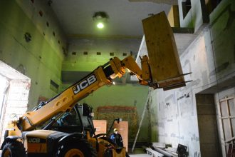 TR-24 cyclotron elements relocated and set to final position in Yekaterinburg