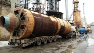 Plywood grinding line and aspiration machinery dismantled and relocated in Moscow