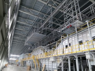 Turnkey Installation of process machinery of the auto body painting shop