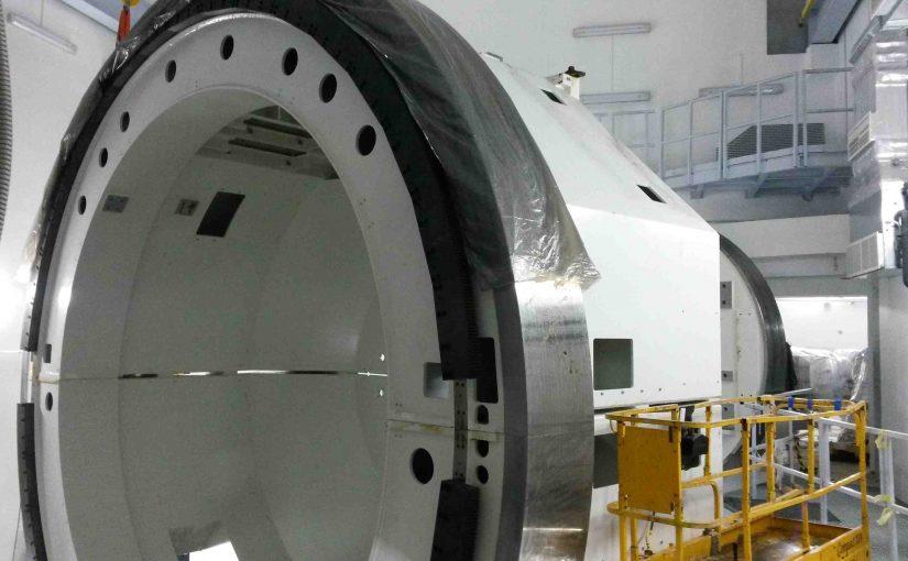 Монтаж оборудования протонного центра в Санкт-Петербурге