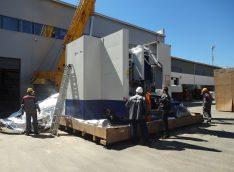 Оборудование доставлено, идёт процесс удаления упаковки
