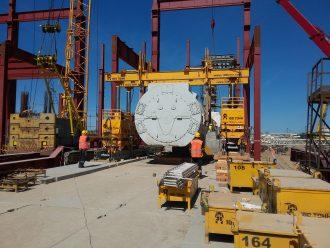 Installation von vier Gasturbinenanlagen General Electric im Pregolskiy Wärmekraftwerk