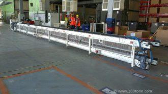 Перемещение линии сборки автомобильных кресел