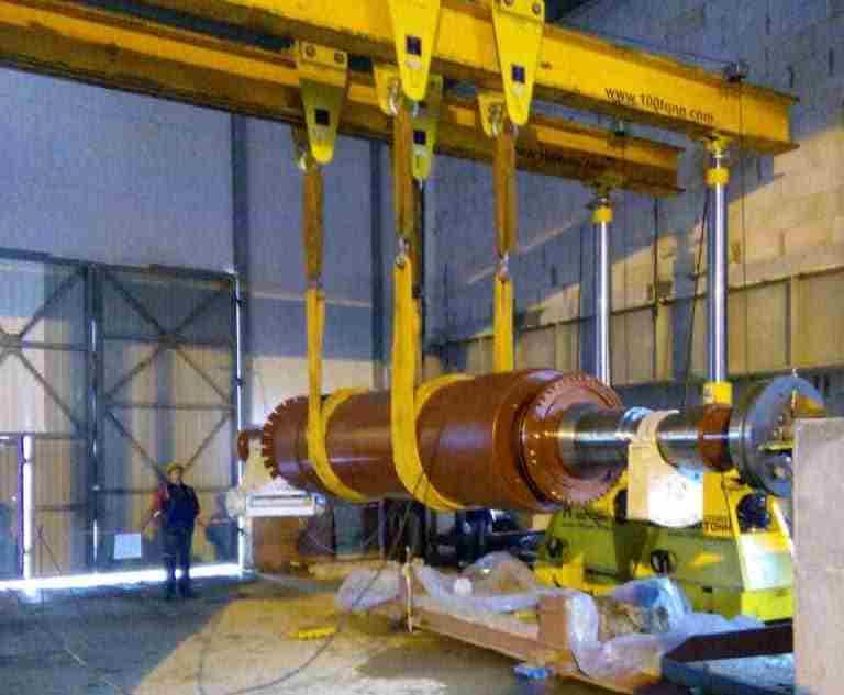 Такелаж роторов на Талаховской и Маяковской ТЭС в Калининградской области