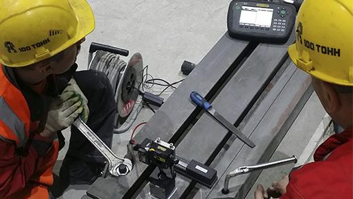 Выверка при монтаже оборудования на Маяк-Техноцелл
