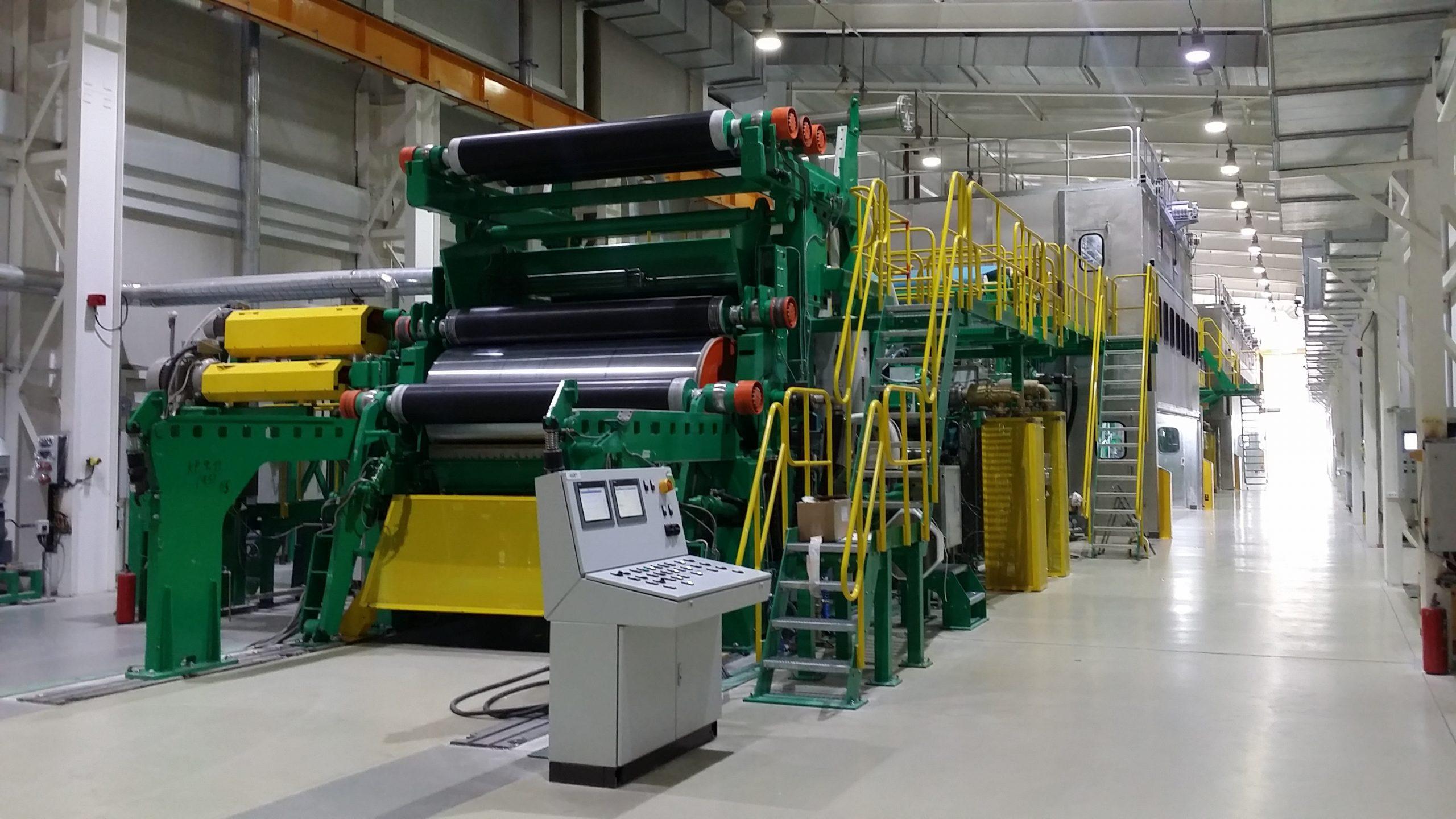 Монтаж бумагоделательной машины PAPCEL