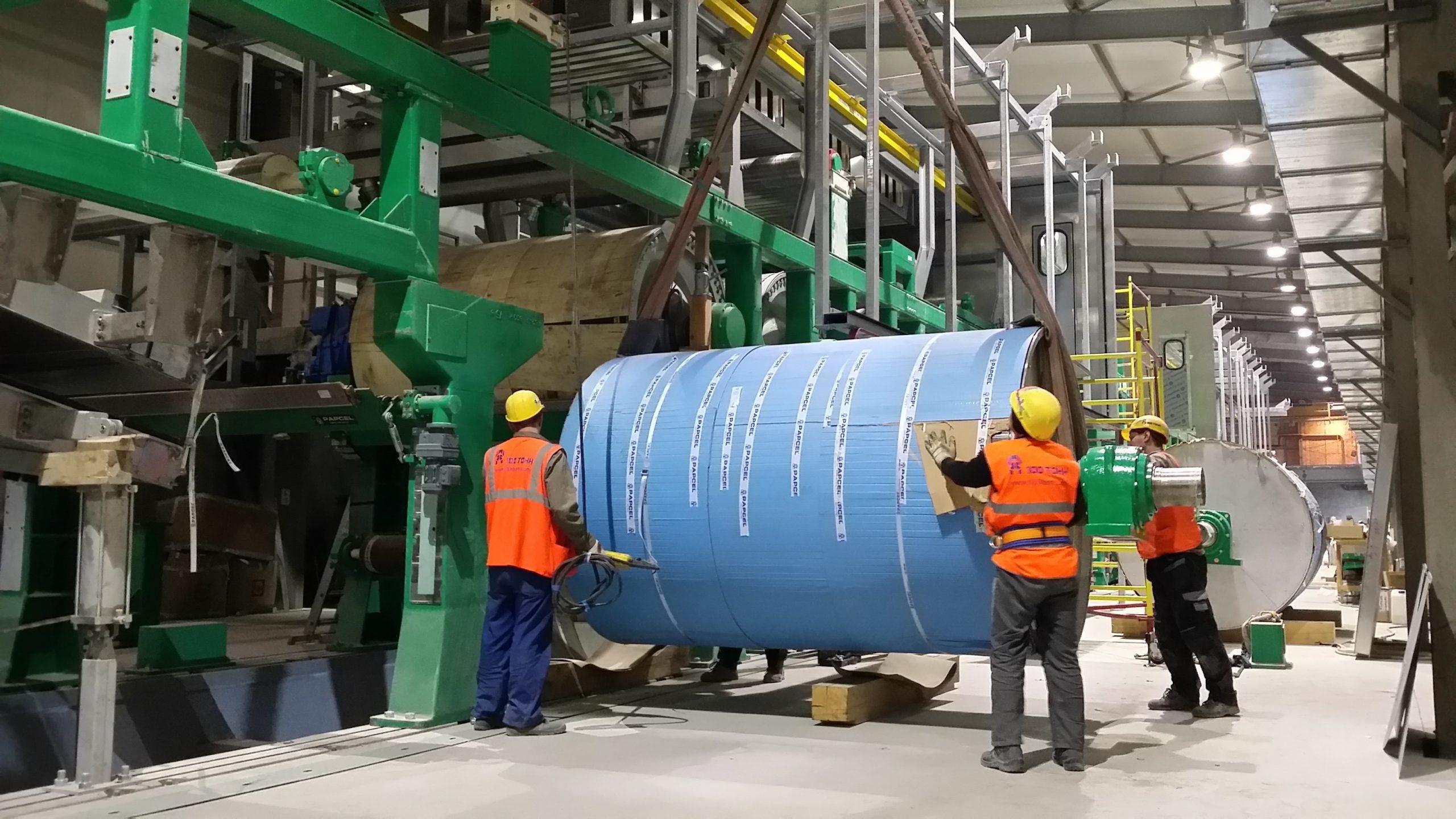 Промышленный монтаж оборудования ЦБК