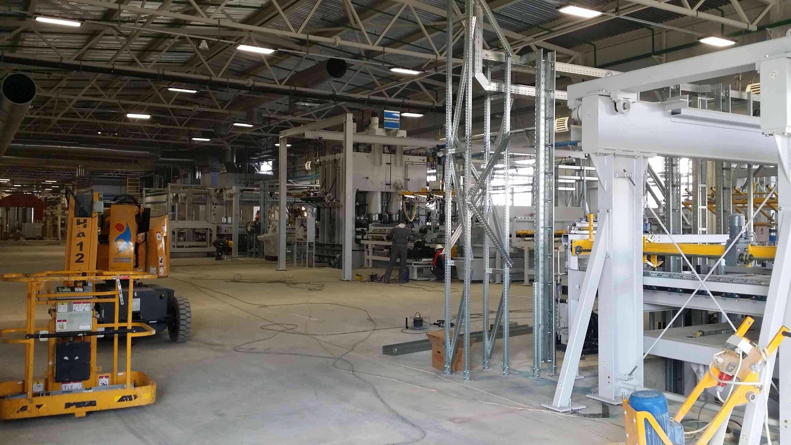 Комплексный монтаж технологического оборудования в сжатые сроки