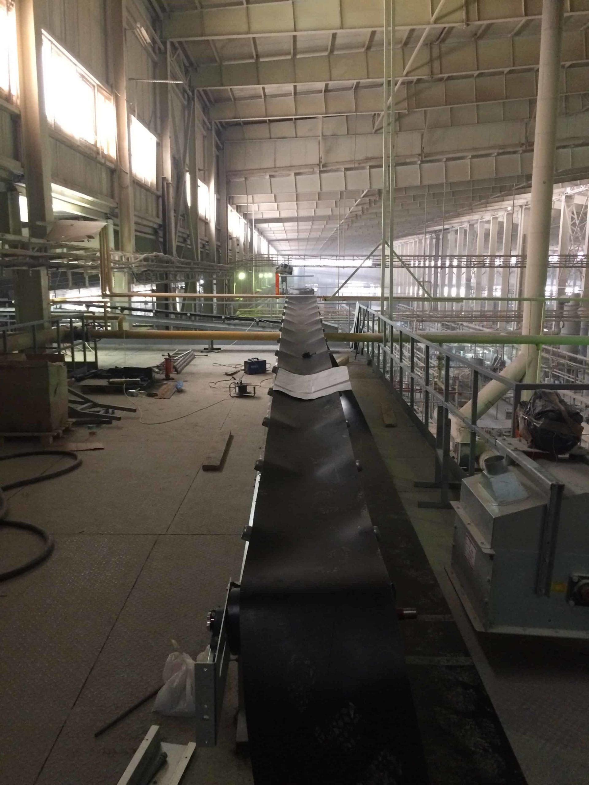 Монтаж конвейера порошка LB - г. Шахты, Ростовская область