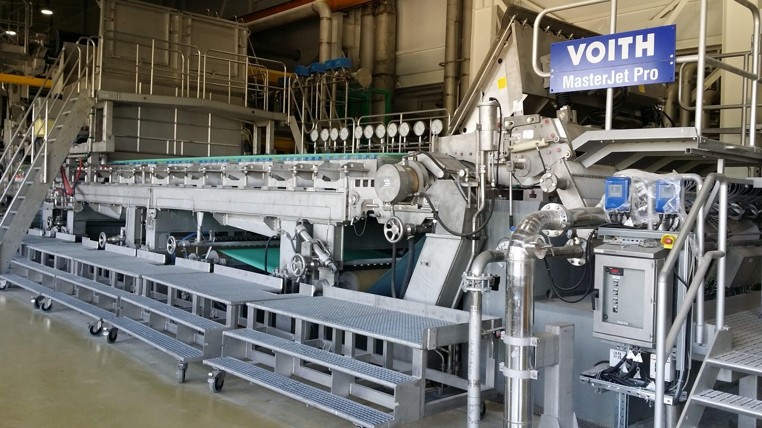 Монтаж оборудования в целлюлозно-бумажной промышленности