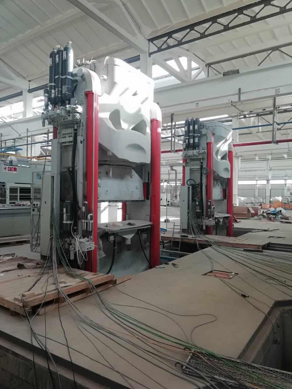 Монтаж прессового оборудования в г. Самарканд