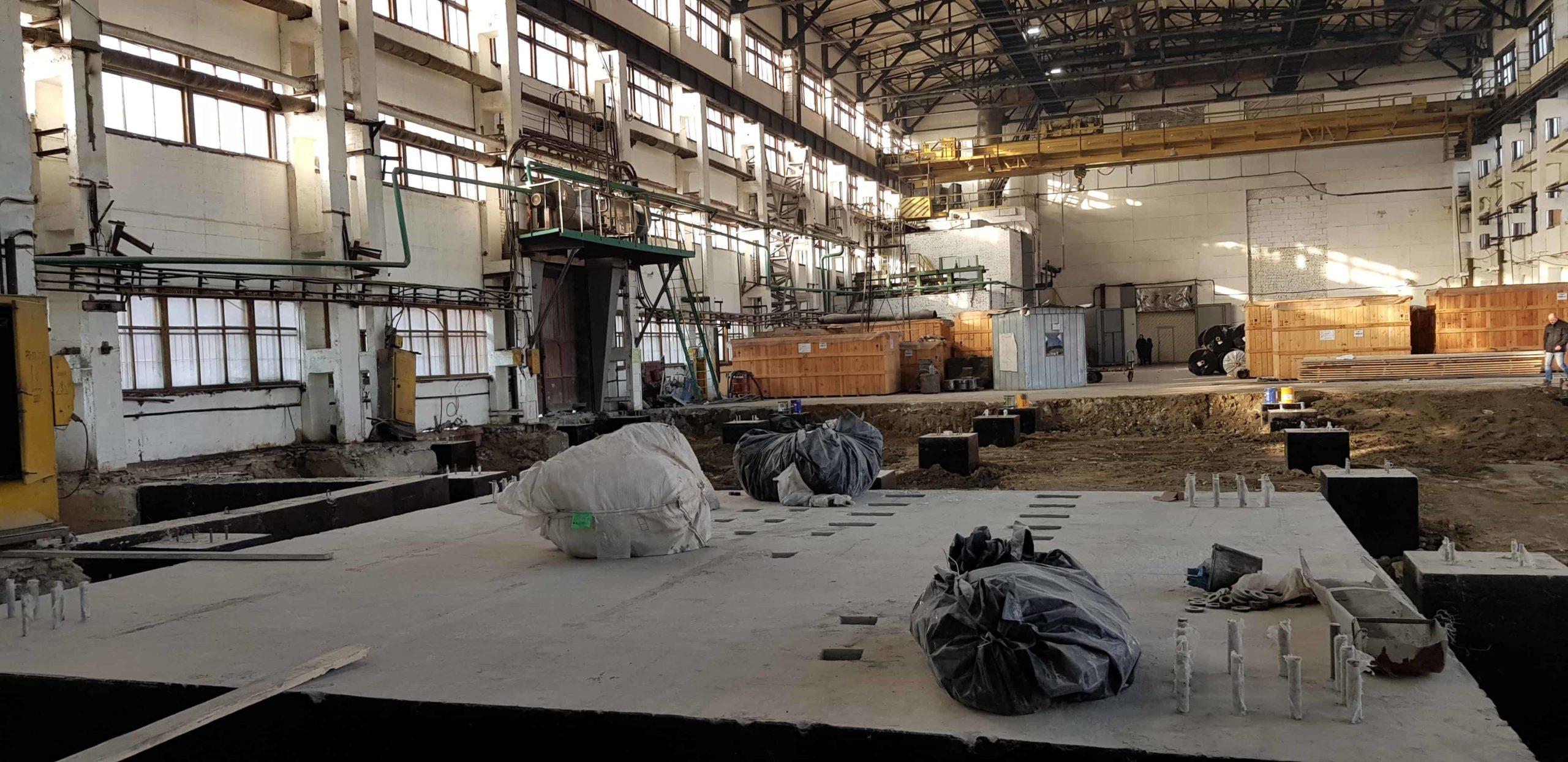 Монтаж промышленного оборудования под ключ - от фундамента до пусконаладочных работ