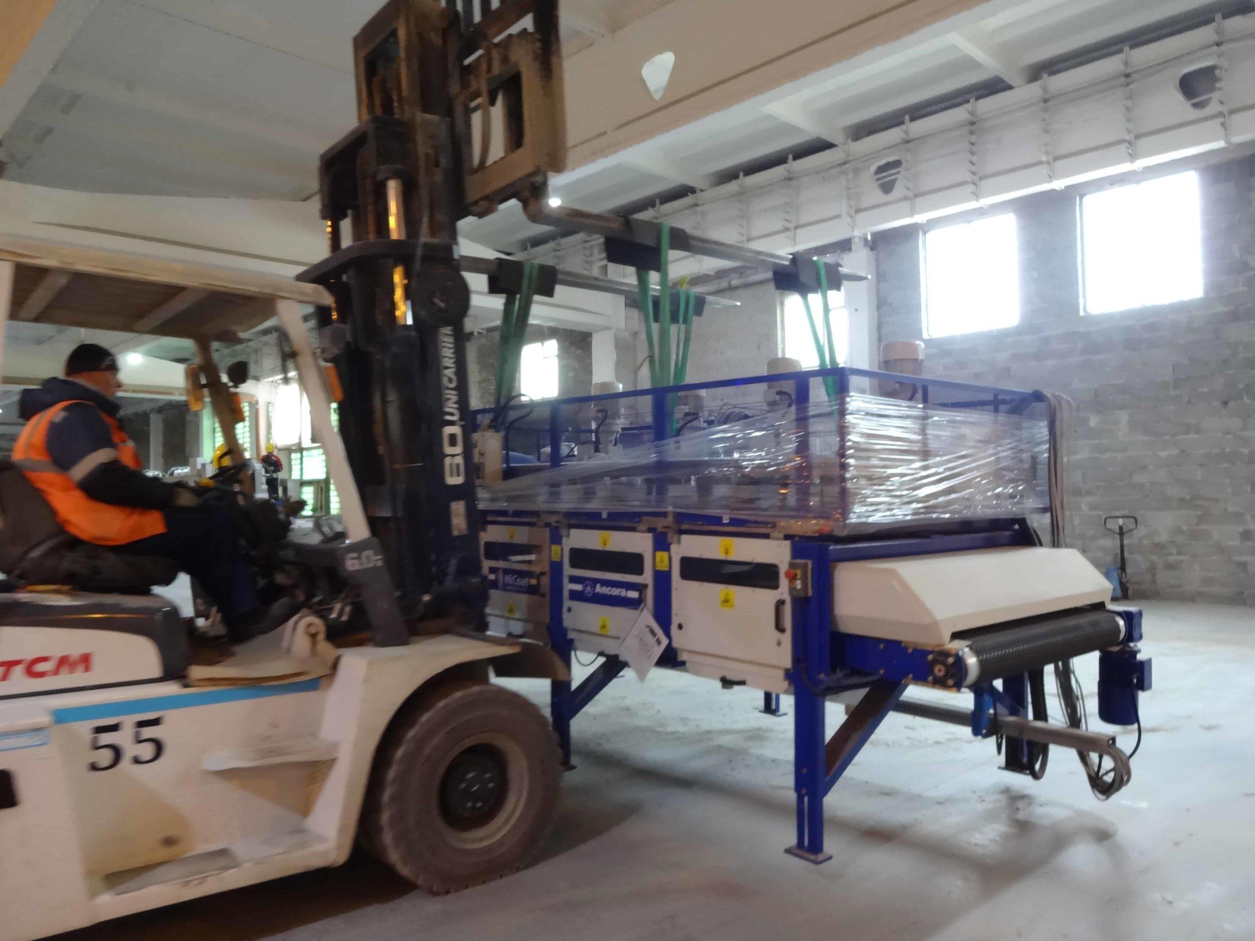 Монтаж технологического оборудования линии ректификации в Екатеринбурге