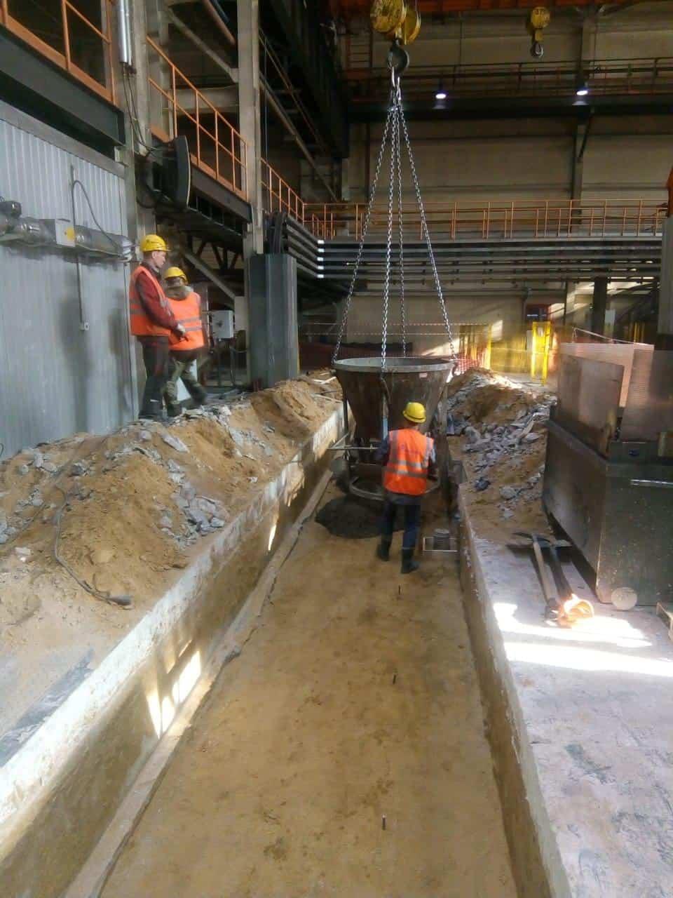Полный комплекс строительно-монтажных работ на трубном заводе