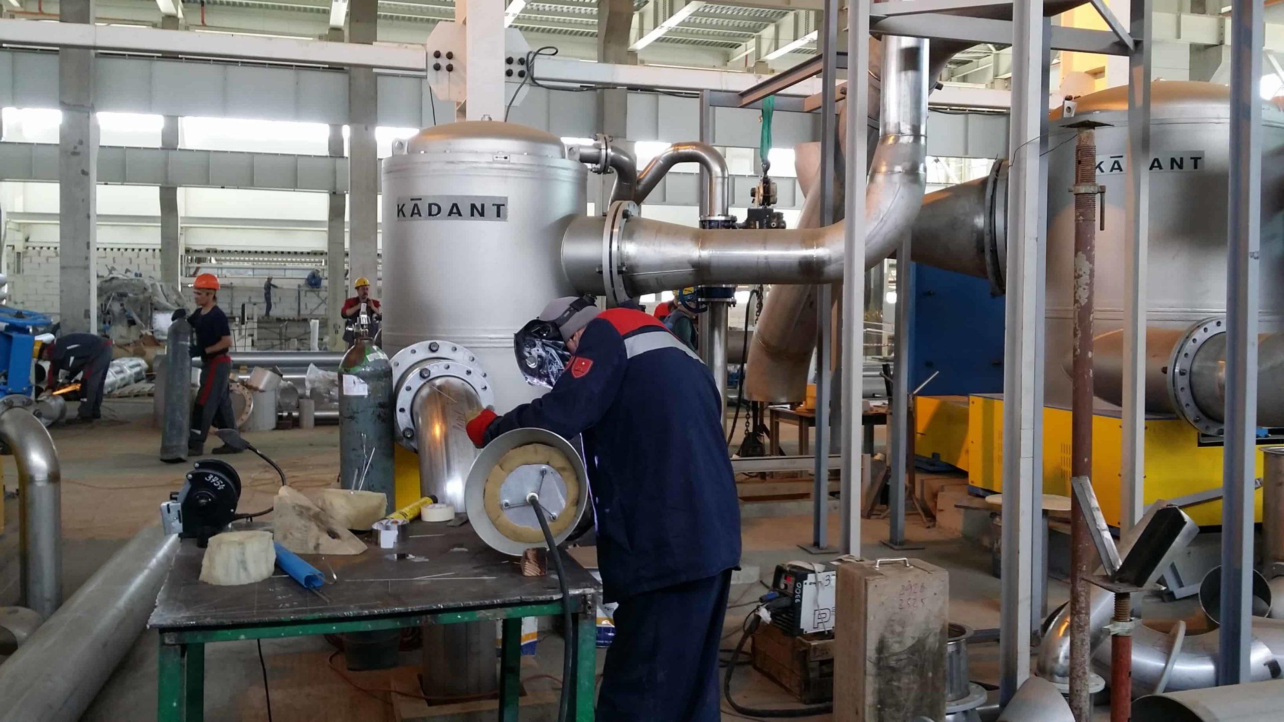 Промышленный монтаж оборудования KADANT