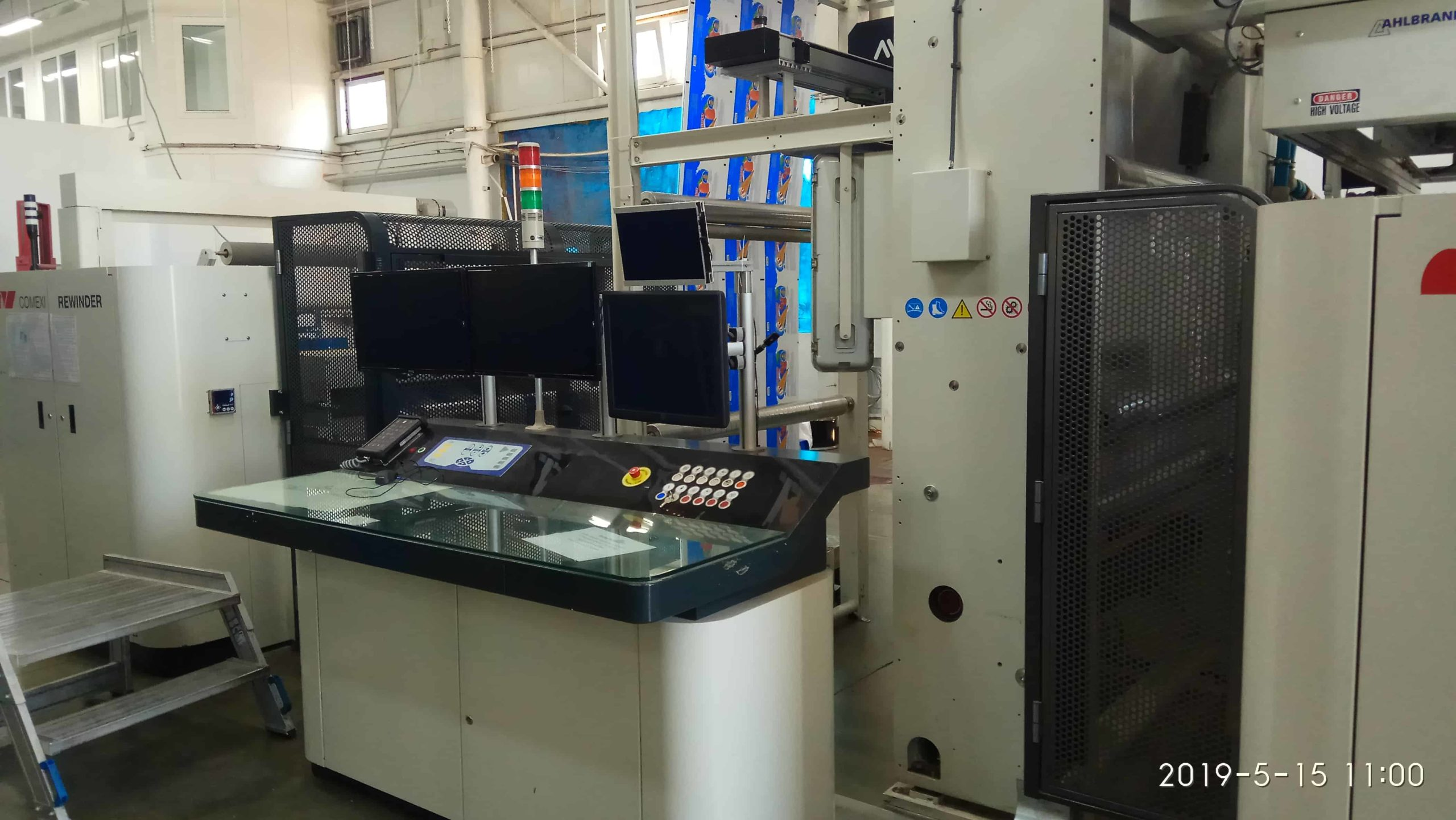 Пульт управления флексографической машины COMEXI 1300 F2 MP