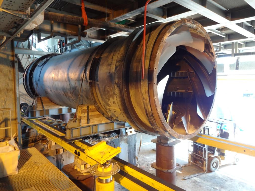 Система надвижки в такелаже промышленного оборудования