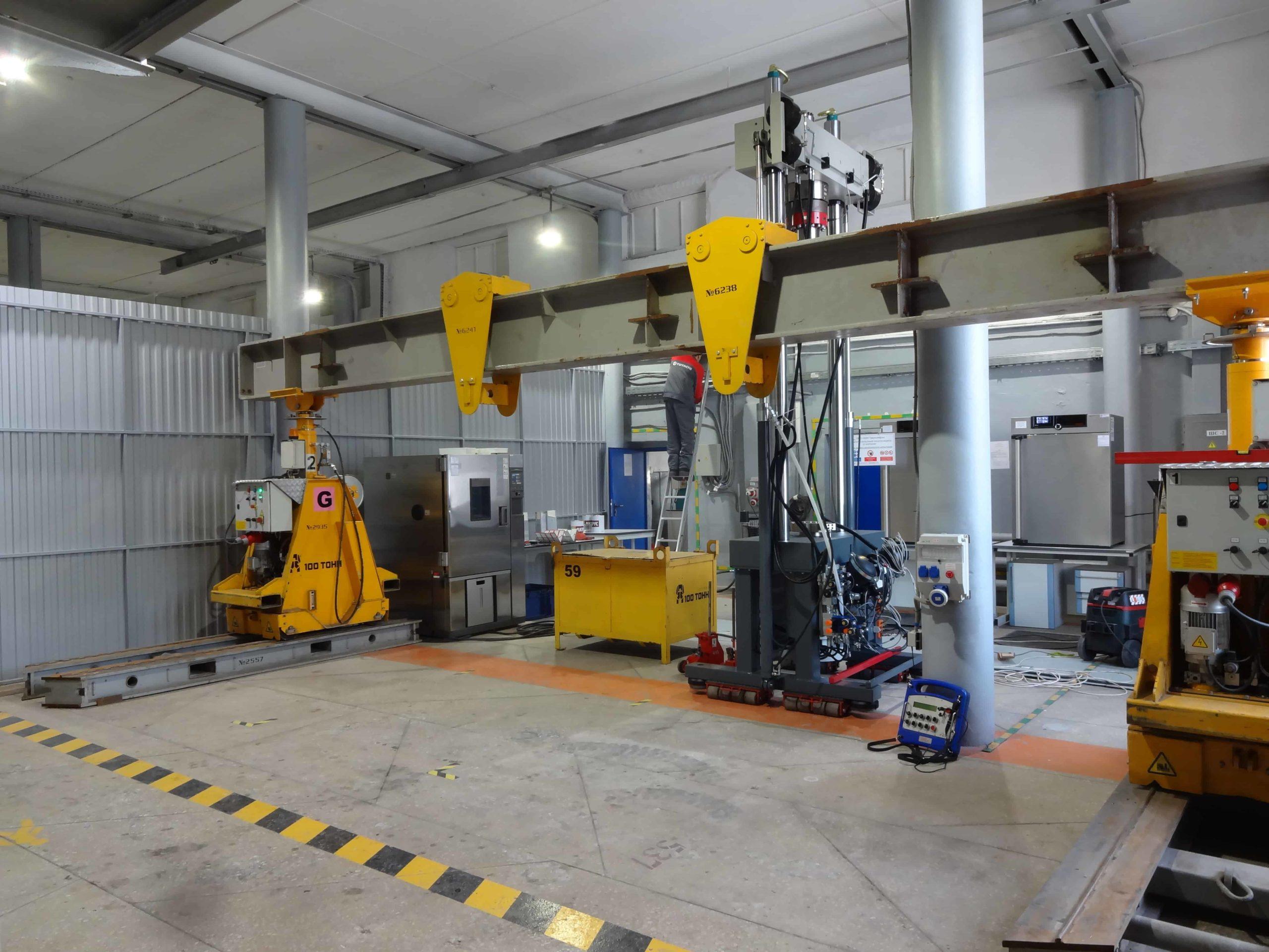 Установка испытательной машины HA500