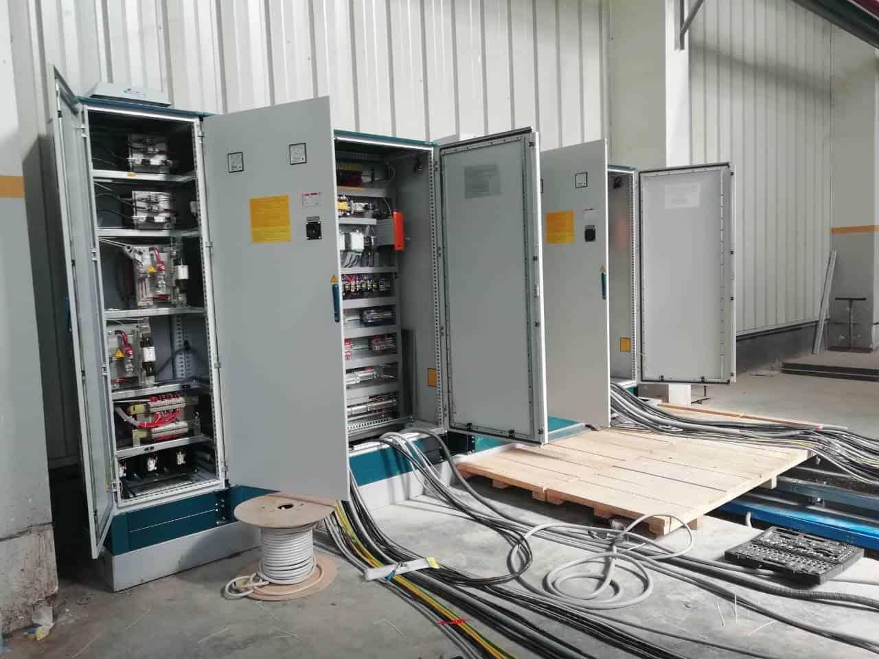 Электромонтажные работы для подключения оборудования