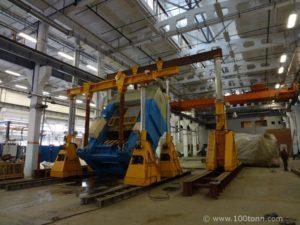 Установка крупногабаритного оборудования
