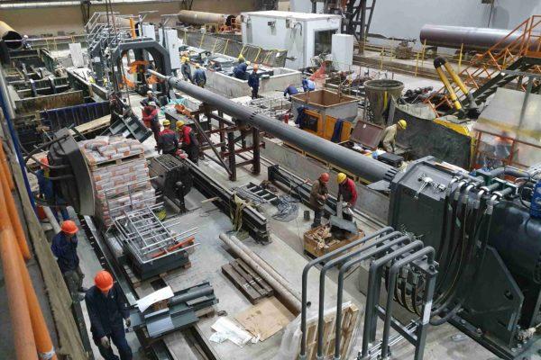 Механический монтаж оборудования на трубном производстве