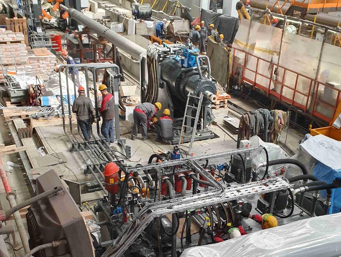 Монтаж оборудования HAEUSLER в России 1122x844
