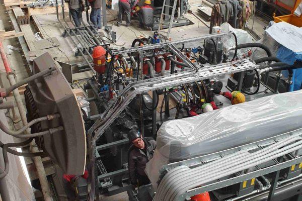 Монтаж оборудования HAEUSLER в России