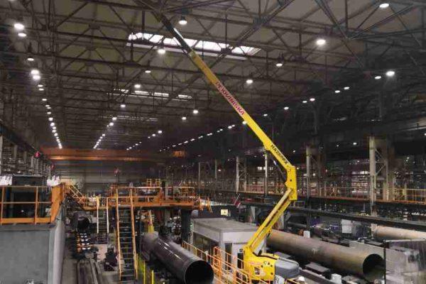 Монтаж пожарной сигнализации на промышленном предприятии